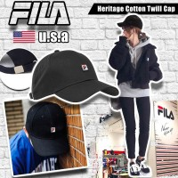 2底: FILA 小LOGO CAP帽 (黑色)