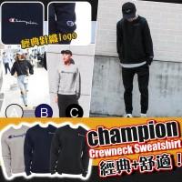 3中: Champion Crewneck 圓領衛衣 (深藍色)