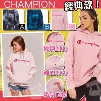 3中: Champion 女裝草字有帽衛衣 (粉紅色)