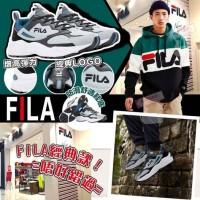4中: FILA Recollector 男裝波鞋 (灰藍白)
