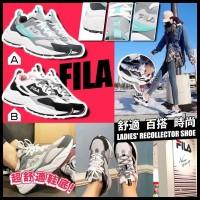 4中: FILA Recollector 女裝運動鞋 (粉白色)