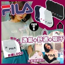 6中: FILA Liner 船襪 (6對裝)