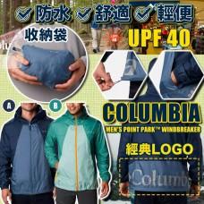4底: Columbia Point Park 男裝風衣 (綠色)