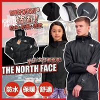 4底: The North Face Dryvent 中童風衣 (黑色)