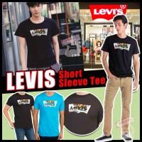 5中: Levis Sleeve 男裝短袖彩LOGO上衣 (黑色)