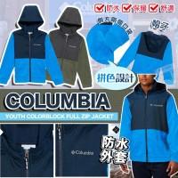 6中: Columbia Colorblock 中童風衣外套 (顏色隨機)