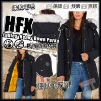 6中: HFX 女裝毛毛帽羽絨外套 (黑色)