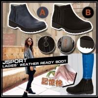 6中: JSport 女裝短靴 (黑色)