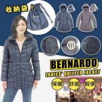 6中: Bernardo Quilted 女裝夾棉外套 (藍色)
