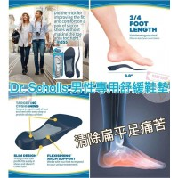 6中: Dr. Scholls 男士專用舒緩鞋墊