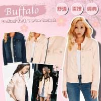 6中: Buffalo Knit 女裝牛仔外套 (粉紅色)