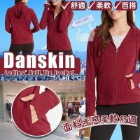 6中: Danskin Full Zip 女裝外套 (紅色)