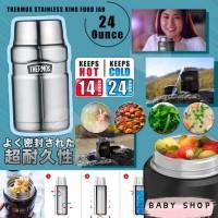 6底: Thermos 710ml Food Jar 控溫食物壺 (銀灰色)