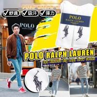 6底: Ralph Lauren Polo 6對裝長襪 (白色)