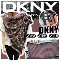 6底: DKNY 大圍巾 (混色花紋款)