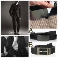 6底: Calvin Klein 西裝雙面皮帶 (B款)