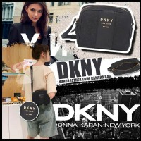 6底: DKNY Noho Tirm 斜挎相機包包 (黑色)