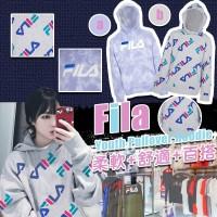 6底: FILA Pullover 中童連帽衛衣 (粉紫色)