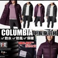 6底: Columbia thermal 大人長版羽絨外套 (黑色)