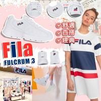 6底: FILA Fulcrum 3 女裝舒適波鞋 (白色)