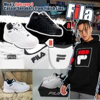 6底: FILA Fulcrum 3 Casual 男裝波鞋 (黑色)