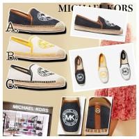 5底: Michael Kors 休閒草鞋 (白底黑色邊)