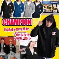 7中: Champion LOGO 大人有帽外套 (黑色)