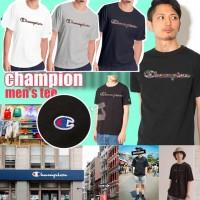7中: Champion 彩LOGO特別版短袖上衣 (藍色)