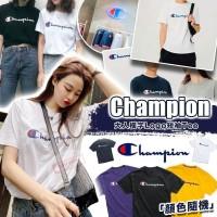 現貨: Champion LOGO 草字大人短袖上衣 (顏色隨機-單件裝)