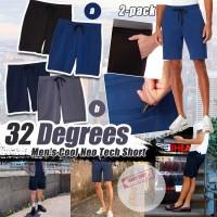 8中: 32 Degrees Cool 2條裝男裝短褲 (黑色+藍色)