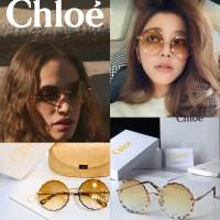 7中: Chloe 無框花瓣太陽眼鏡