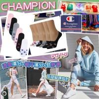 8中: Champion Cotton 6對裝混色船襪