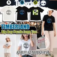 9中: Timberland Puzzle 中童短袖上衣 (A款-白色)