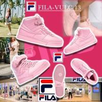 9底: FILA VULC 13 粉紅高筒波鞋
