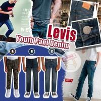9底: Levis Pant Denim 中童牛仔褲 (C款-洗水藍色)