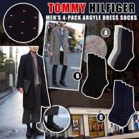 9底: Tommy Hilfiger Argyle 男裝西裝襪 (4對裝)