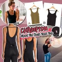 10中: Champion Sport T背運動背心 (黑色)