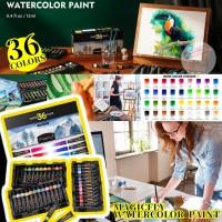 10月初: Magicfly WaterColor Paint 36色水彩顏料套裝