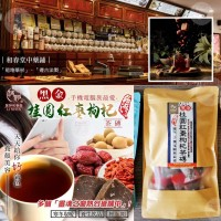 8月初: 台灣和春堂黑金桂圓紅棗構杞茶磚