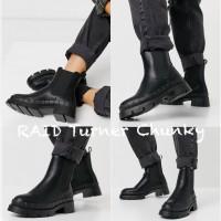 10中: RAID Turner Chunky 女裝短靴 (黑色)