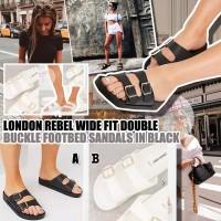 10中: London Rebel 女裝輕裝拖鞋 (黑色)