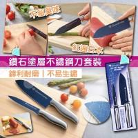 9中: 日本鑽石塗層刀具套裝 (2把裝)