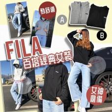 12月初: FILA 女裝運動衛衣 (灰色)