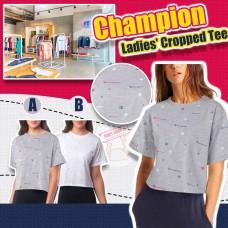 11底: Champion Cropped 女裝短袖上衣 (白色)