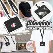 12月初: Champion Lanyard 長帶掛頸卡套 (黑色)