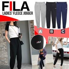 12月初: FILA Fleece 女裝抓絨運動長褲 (黑色)