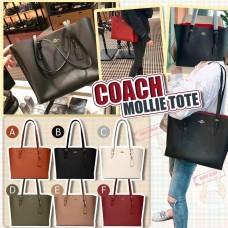 10底: Coach MOLLIE 大號手提包包