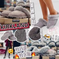 12月初: Kirkland 毛毛鞋 (灰色)