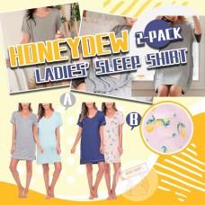 12月初: Honeydew 2件裝睡裙套裝 (深藍+檸檬)