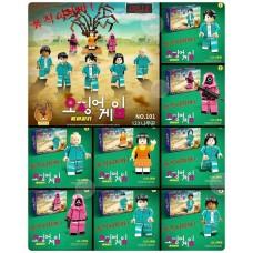 11中: 魷魚遊戲木頭人套裝 (1套8盒)